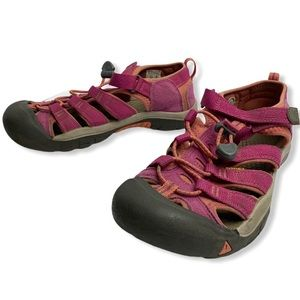 Keen Pink Washable Athletic Hiking Sandals Size 5